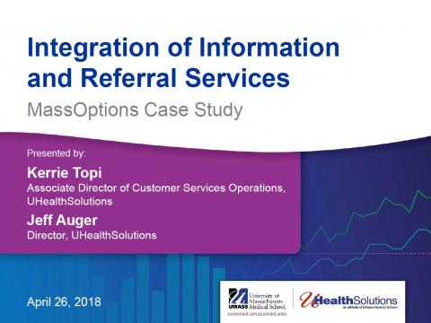 Integration of Information and Referral Services