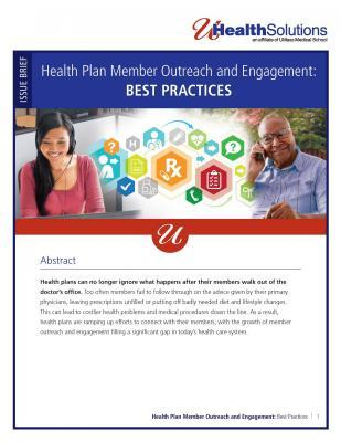 Health Plan Member Outreach and Engagement: Best Practices